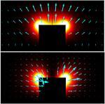 Plasmonic ridge waveguides with deep-subwavelength outside-field confinements