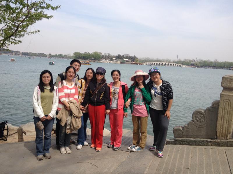 2014年春季,颐和园春游