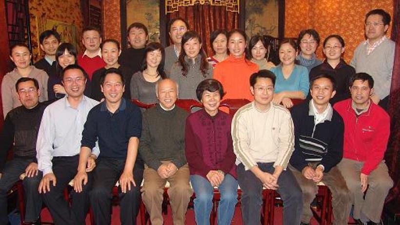 ICL2007年聚会 张化瑞摄于北京大学